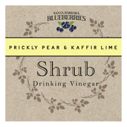 Prickly Pear Kaffir Lime Shrub- 16 oz